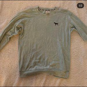 XS pink crew neck sweatshirt